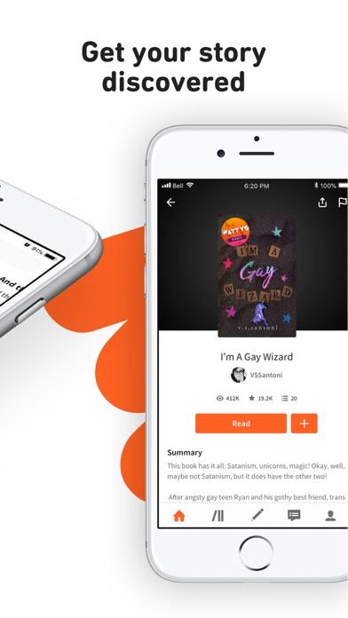Wattpad - Read & Write Stories Screenshot