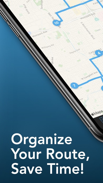 Route - Delivery Planner Screenshot