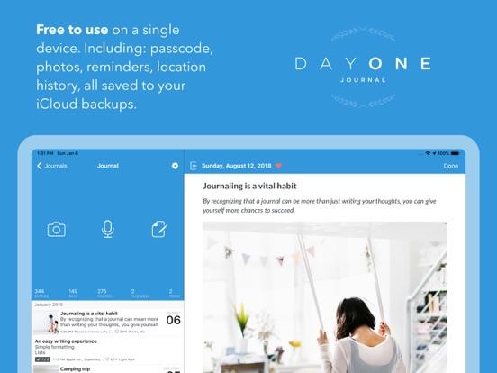 Day One Journal Screenshots