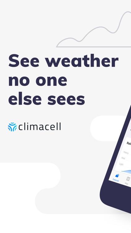 Forecast & Radar by ClimaCell screenshot-0