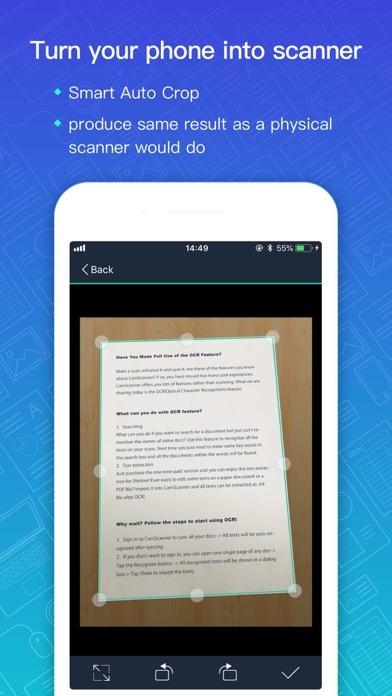 CamScanner-Scanner to scan PDF app image