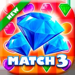Classic Jewel Match 3 Puzzle