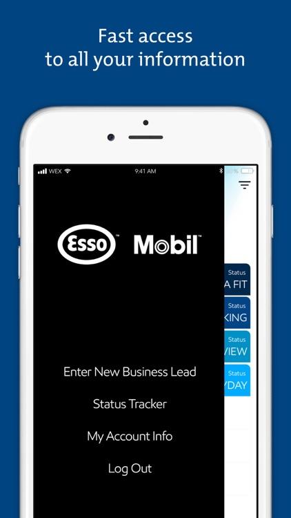 FleetLeads Esso Mobil screenshot-4