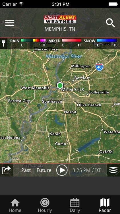 WMC5 First Alert Weather screenshot-4