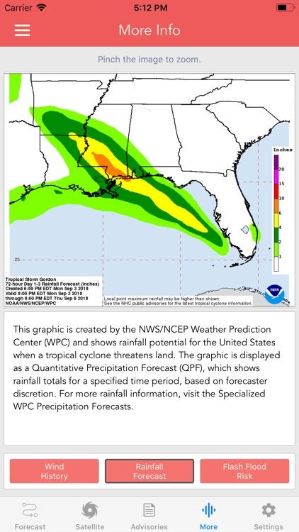 National Hurricane Center Data screenshot-8