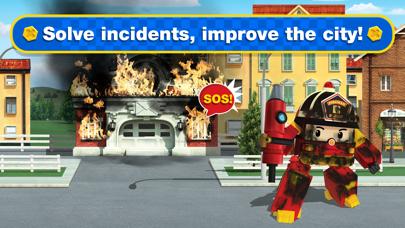 Screen Shot Robocar Poli: Rescue City Cars 4