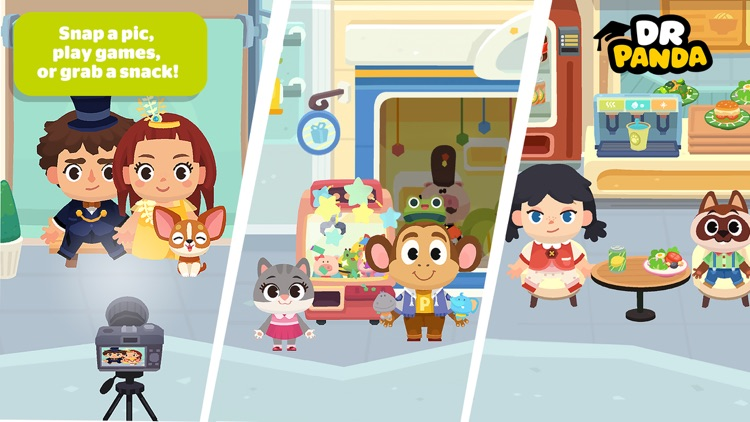Dr. Panda Town: Mall screenshot-2