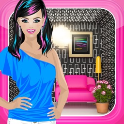 Dress Up Games™ 3-in-1 Makeup, Decorating, and Modeling Game for Girls