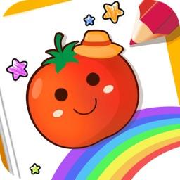 番茄宝宝爱画画-涂鸦绘画小能手