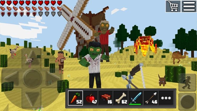 World of Cubes Survival Craft screenshot-3