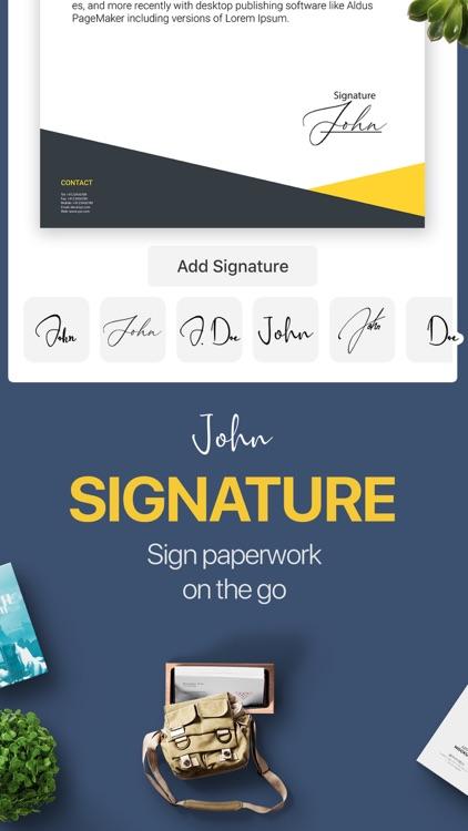 PDF Pro App - Sign, Scan, Fill