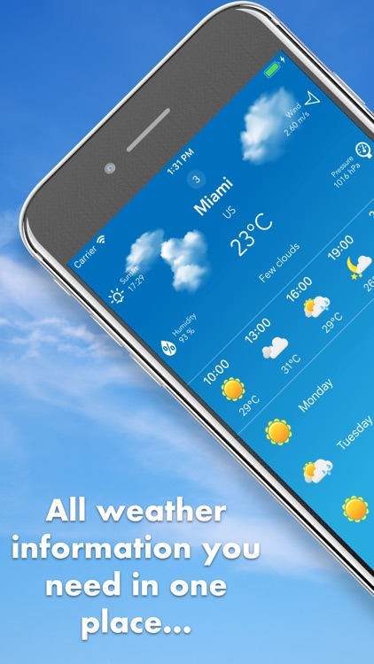 Weather - simple and accurate