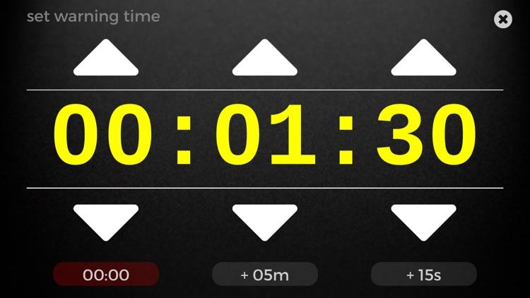 Speech Timer for Talks screenshot-3
