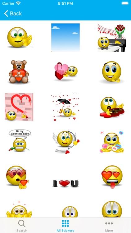 Emojis 3D - Animated Sticker screenshot-3