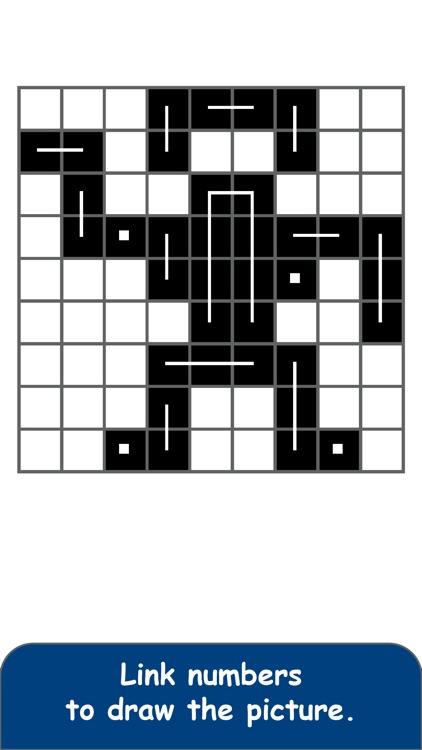FCross Link-a-Pix Puzzles screenshot-7