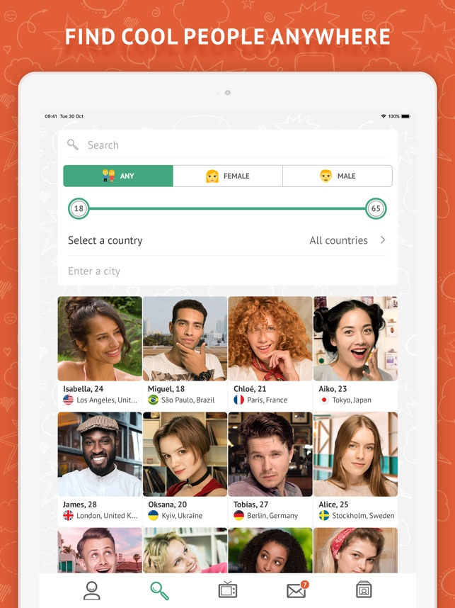 OmeTV - Video Chat Alternative on the App Store