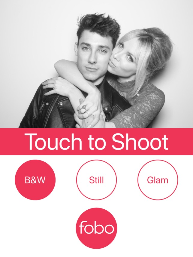 Fobo - Digital Photo Booth Screenshot