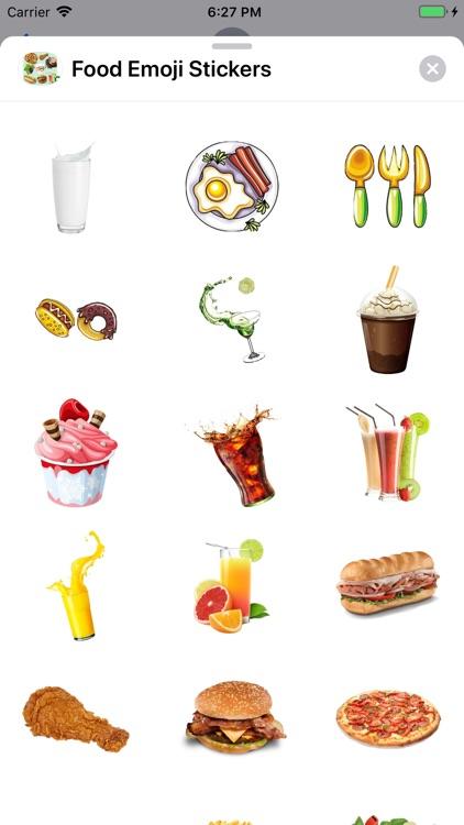 Food Emoji Stickers screenshot-5