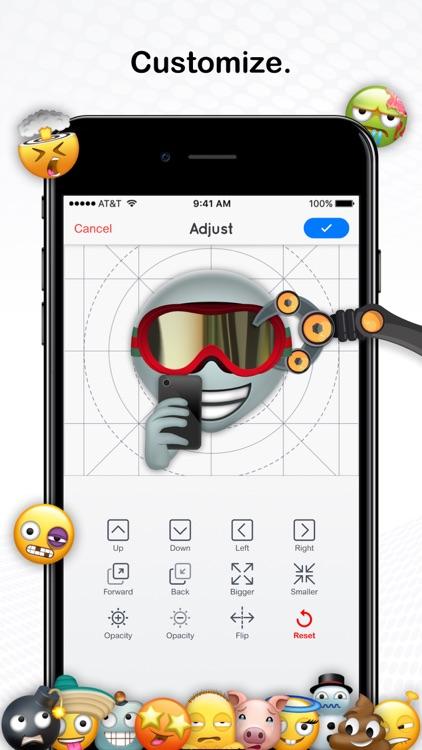 Moji Maker™ | Emoji & Avatar screenshot-4