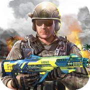 现代枪战模拟:战争模拟器射击游戏
