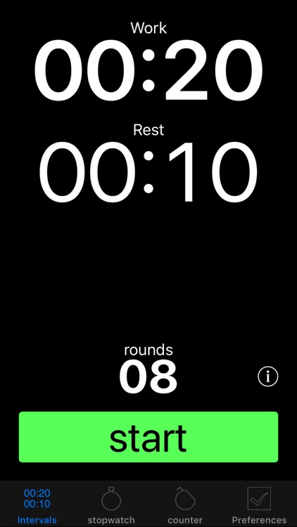 Strengthiness Interval Timer
