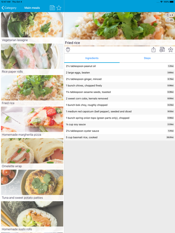 Monash University FODMAP diet Screenshots