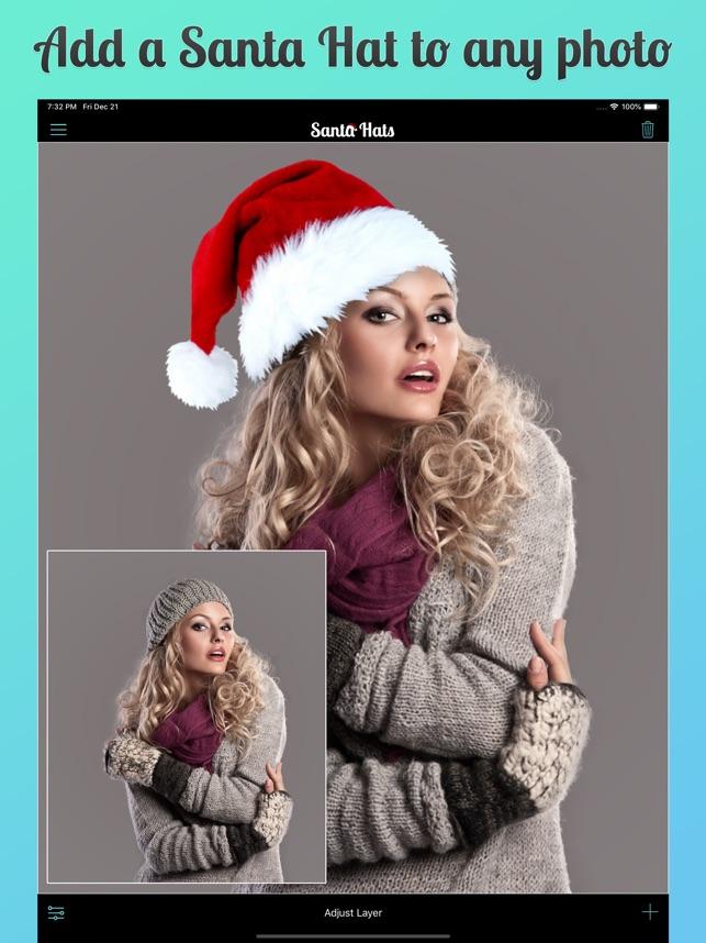 1e8b09a7be36e  Santa Hats 2 on the App Store