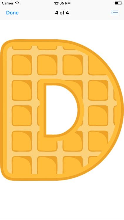Waffle Letters screenshot-5