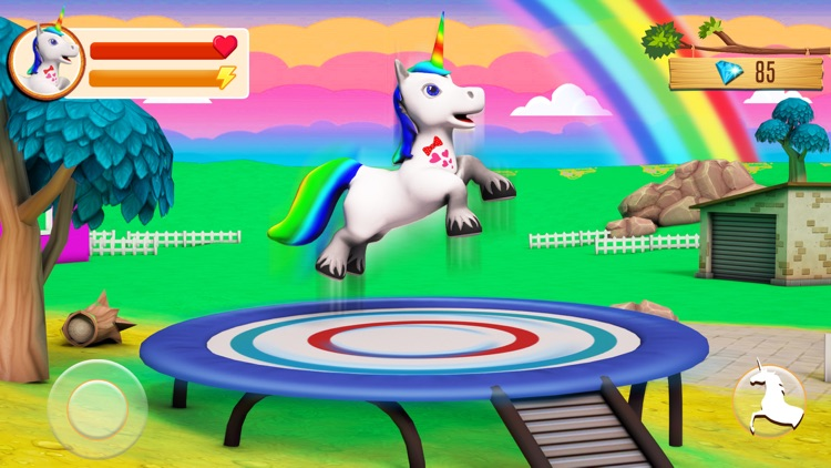Baby Unicorn: Pony Wonderland screenshot-0
