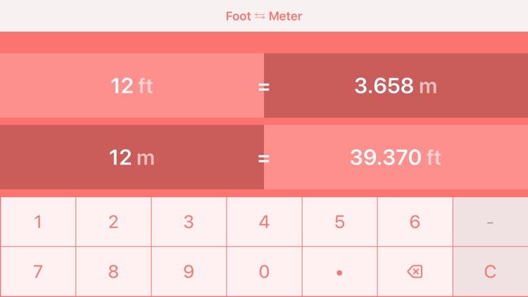 Feet to Meters   ft to m screenshot-4
