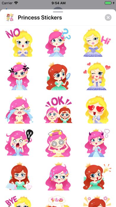 Princess Stickers app image