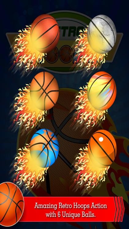 Retro Hoops Basketball Shoot