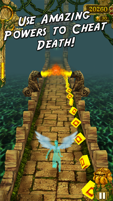 Temple Run Screenshot on iOS