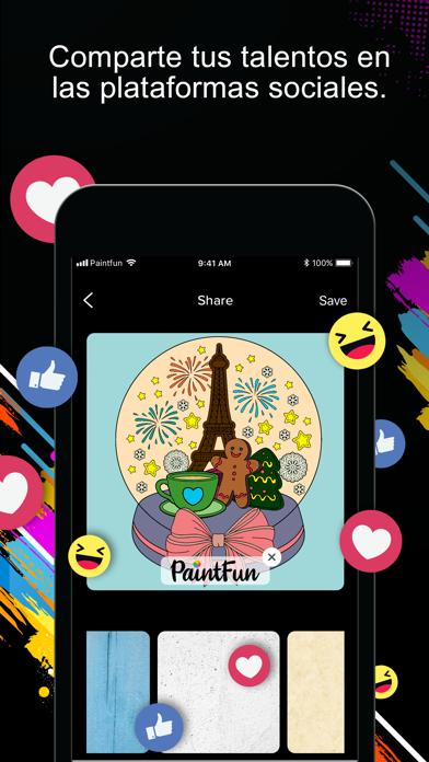 Descargar PaintFun - Coloring Book para Android