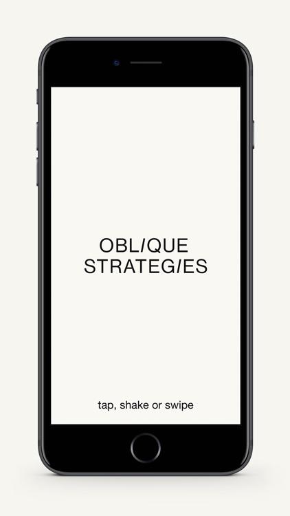 Oblique Strategies SE