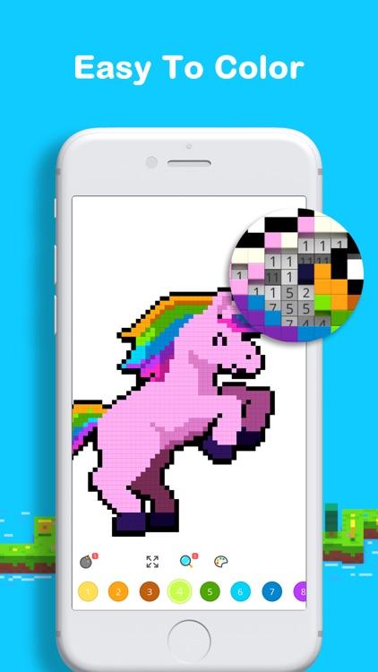 Voxel: Pixel Art Coloring screenshot-6