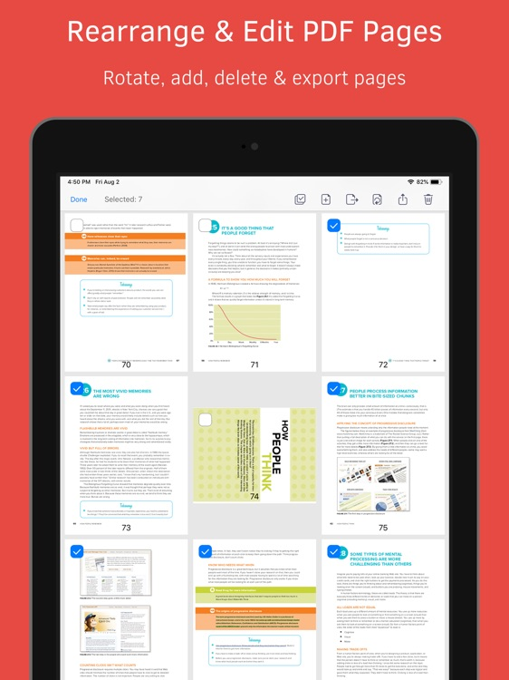 PDF Reader – Expert PDF Editor screenshot-8