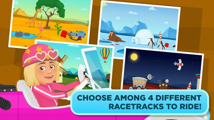 Racing for kids - cars & games screenshot-3