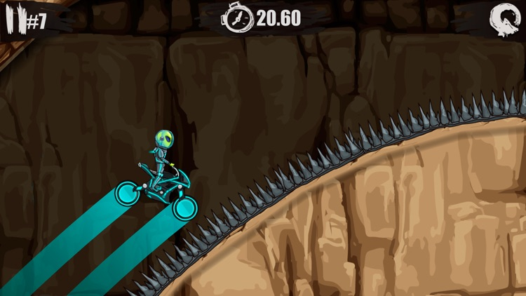 Moto X3M Bike Race Game screenshot-3