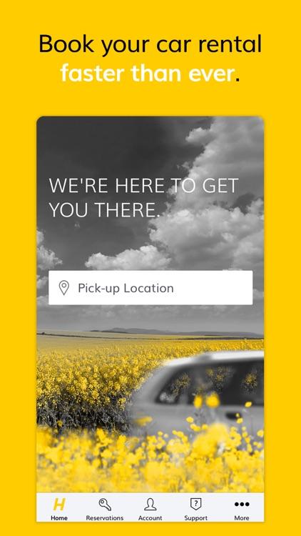 Hertz Car Rental screenshot-0