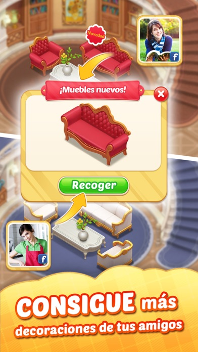 Screenshot for Matchington Mansion in Ecuador App Store