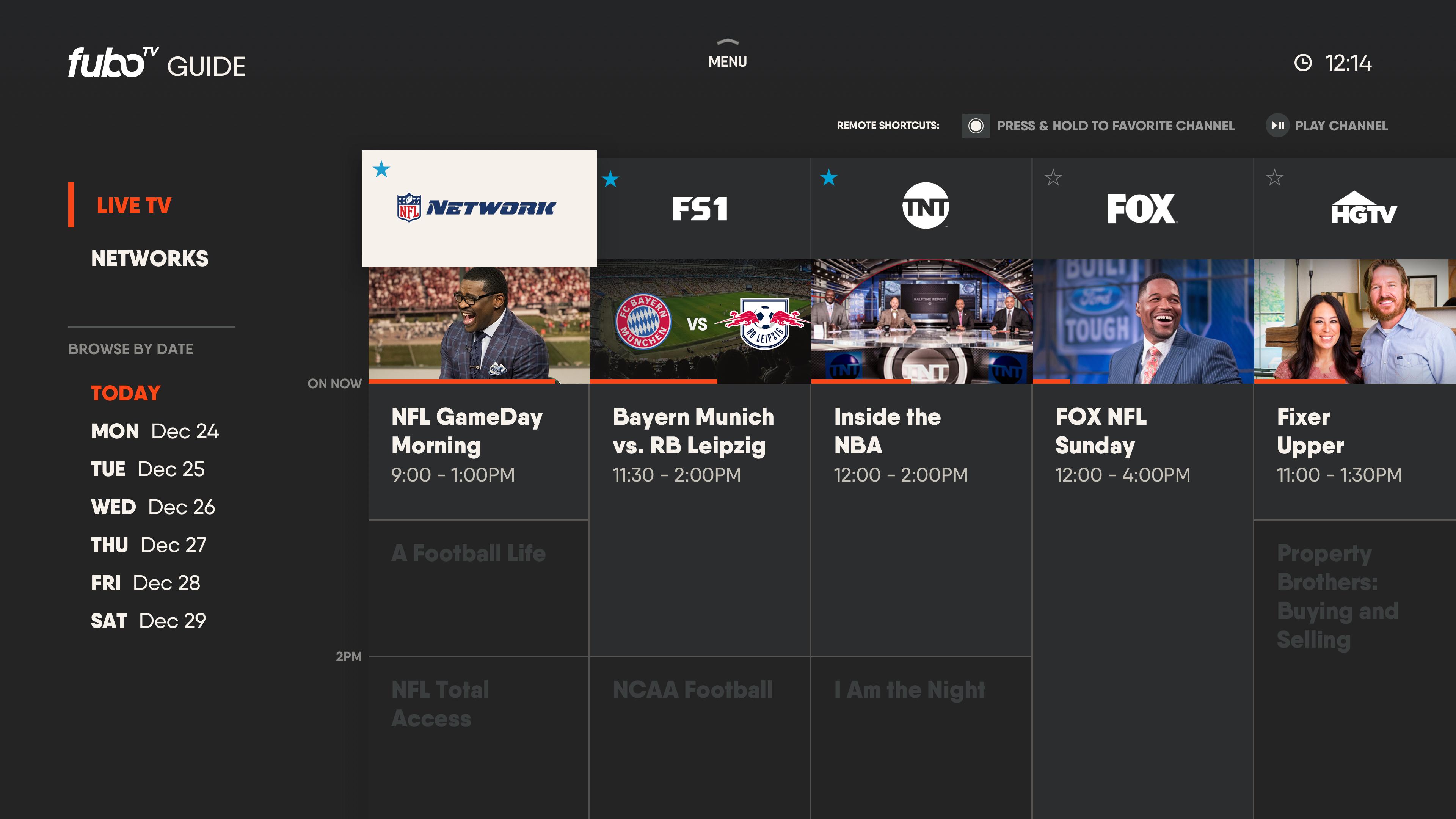 fuboTV: Watch Live Sports & TV screenshot 17