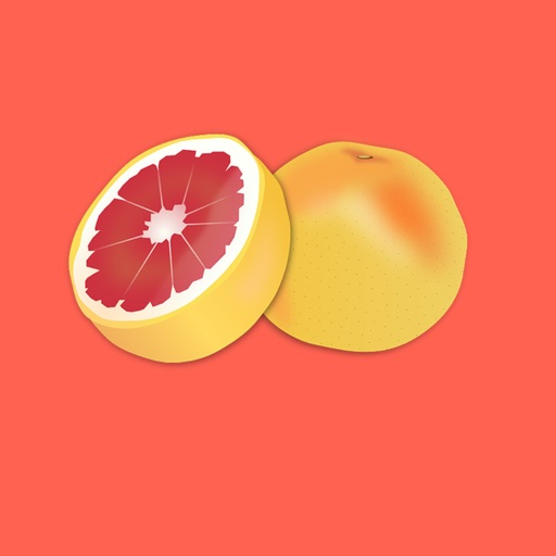 Grapefruit Stickers