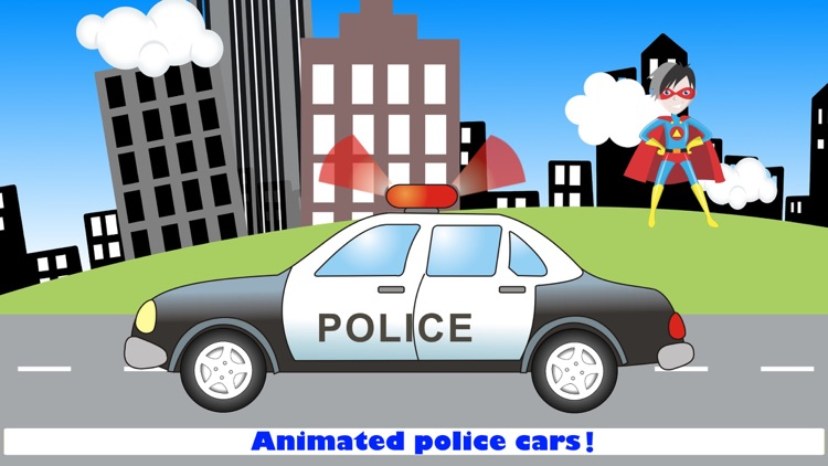 Police Car Games for Driving screenshot-5