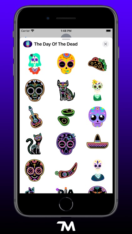 The Day Of The Dead Stickers
