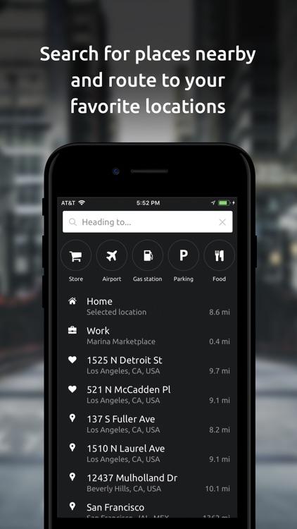 Hudway Go: Navigation with HUD screenshot-4