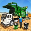 ゴミ捨てトラック運転手2020