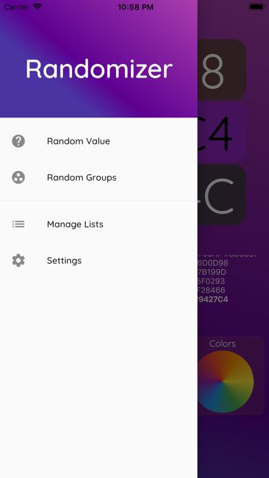 Randomizer - Random Picker app image
