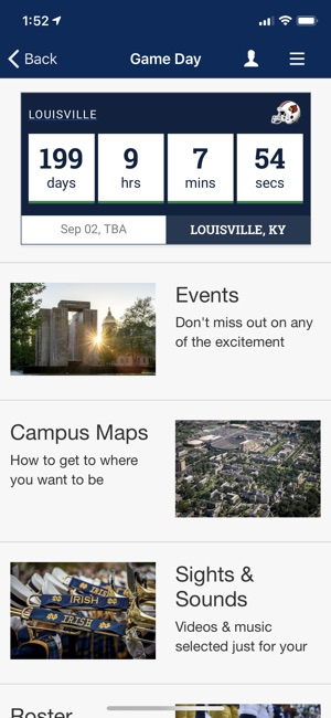 Notre Dame Mobile On The App Store