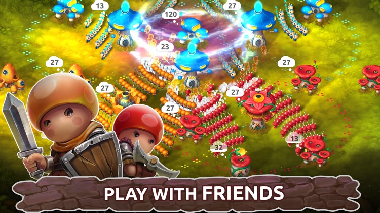Mushroom Wars 2: TD & RTS Game screenshot-4
